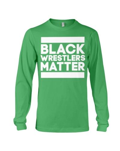 Black Wrestlers Matter shirt