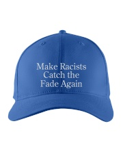 Make Racists catch the face again  shirt Embroidered Hat thumbnail