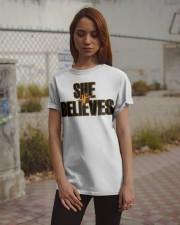 She Believes shirt Classic T-Shirt apparel-classic-tshirt-lifestyle-18