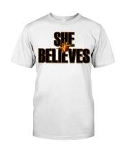 She Believes shirt Premium Fit Mens Tee thumbnail