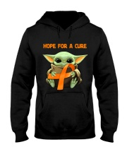 Hope for a cure Hooded Sweatshirt front