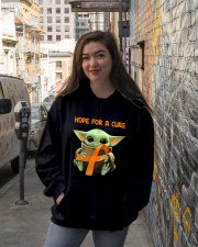 Hope for a cure Hooded Sweatshirt lifestyle-unisex-hoodie-front-1