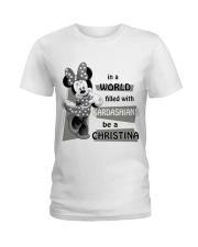 Christina Ladies T-Shirt front