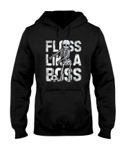 Floss Like a Boss Skeleton T shirt Soccer Hooded Sweatshirt thumbnail