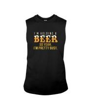I'm Holding a Beer So Yeah I'm Pretty Busy TShirt Sleeveless Tee thumbnail