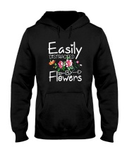 Easily Distracted By Flowers Shirts Hooded Sweatshirt thumbnail