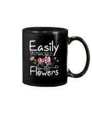 Easily Distracted By Flowers Shirts Mug thumbnail