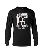 Father And Son Best Friends For Life Fishing Shirt Long Sleeve Tee thumbnail
