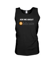 Ask Me About Bitcoin T-Shirt Unisex Tank thumbnail