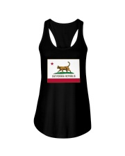 California Republic Shirt Ladies Flowy Tank thumbnail