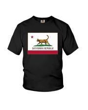 California Republic Shirt Youth T-Shirt thumbnail