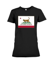 California Republic Shirt Premium Fit Ladies Tee thumbnail
