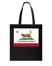 California Republic Shirt Tote Bag thumbnail