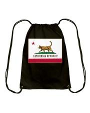California Republic Shirt Drawstring Bag thumbnail