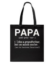 Papa Definition T Shirt Definition Of PaPa T-Shirt Tote Bag thumbnail
