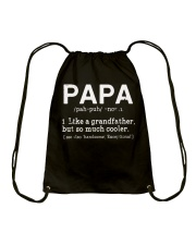 Papa Definition T Shirt Definition Of PaPa T-Shirt Drawstring Bag thumbnail