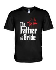 Men's Father of the Bride T-Shirt V-Neck T-Shirt thumbnail