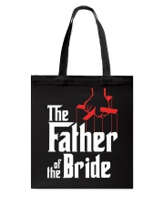 Men's Father of the Bride T-Shirt Tote Bag thumbnail