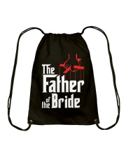 Men's Father of the Bride T-Shirt Drawstring Bag thumbnail