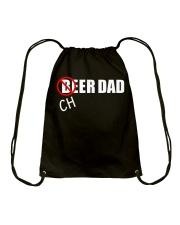 Straight Outta Money Cheer Dad T Shirt Drawstring Bag thumbnail
