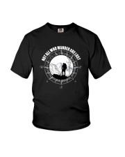 Not All Those Who Wander Are Lost Hiking Shirt Youth T-Shirt thumbnail