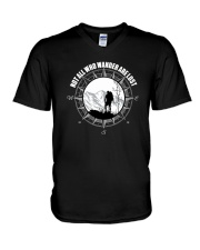 Not All Those Who Wander Are Lost Hiking Shirt V-Neck T-Shirt thumbnail