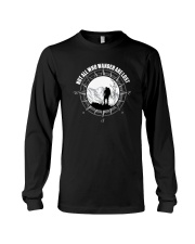 Not All Those Who Wander Are Lost Hiking Shirt Long Sleeve Tee thumbnail