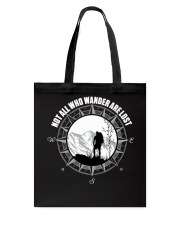 Not All Those Who Wander Are Lost Hiking Shirt Tote Bag thumbnail