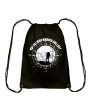 Not All Those Who Wander Are Lost Hiking Shirt Drawstring Bag thumbnail
