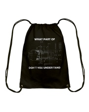 What Part Of Don't You Understand Shirt Drawstring Bag thumbnail