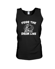 Fear The Drum line Funny Marching Band T-Shirt Unisex Tank thumbnail