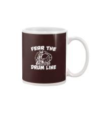 Fear The Drum line Funny Marching Band T-Shirt Mug thumbnail
