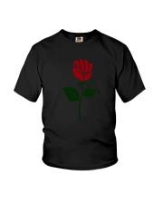 Women right - Rose Resist hands up T-shirt Youth T-Shirt thumbnail