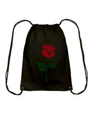 Women right - Rose Resist hands up T-shirt Drawstring Bag thumbnail