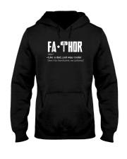 Fathor way cooler Dad Shirt Hooded Sweatshirt thumbnail