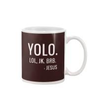 YOLO LOL JK BRB T-Shirt Mug thumbnail