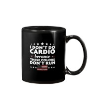 I Don't Do Cardio Because These Colors Don't Run Mug thumbnail