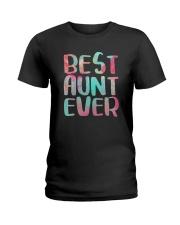 Best Aunt Ever Shirts Ladies T-Shirt thumbnail