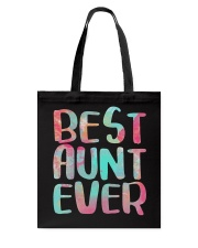 Best Aunt Ever Shirts Tote Bag thumbnail
