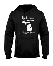 I Like To Think Michigan Misses Me Too Shirts Hooded Sweatshirt thumbnail