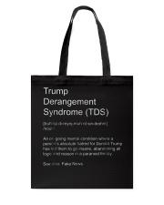 Trump Derangement Syndrome TShirt Tote Bag thumbnail