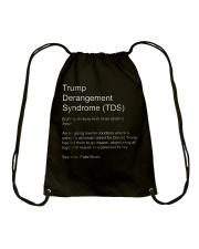 Trump Derangement Syndrome TShirt Drawstring Bag thumbnail