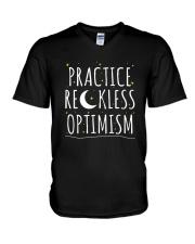 Practice Reckless Optimism TShirt V-Neck T-Shirt thumbnail