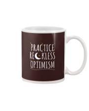 Practice Reckless Optimism TShirt Mug thumbnail
