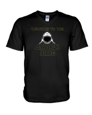 Welcome to the Shark Side Shirt V-Neck T-Shirt thumbnail