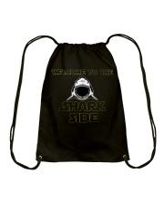 Welcome to the Shark Side Shirt Drawstring Bag thumbnail