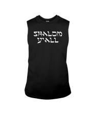 Shalom Y'all Shirt Sleeveless Tee thumbnail