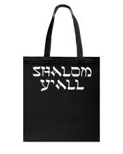 Shalom Y'all Shirt Tote Bag thumbnail