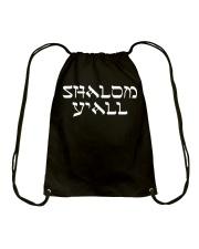Shalom Y'all Shirt Drawstring Bag thumbnail