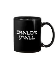 Shalom Y'all Shirt Mug thumbnail